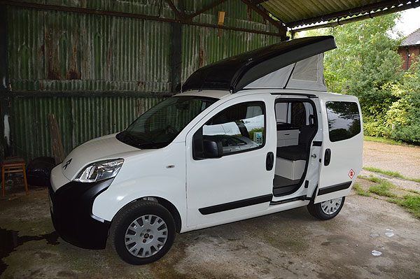 romahome r10 one man campervan