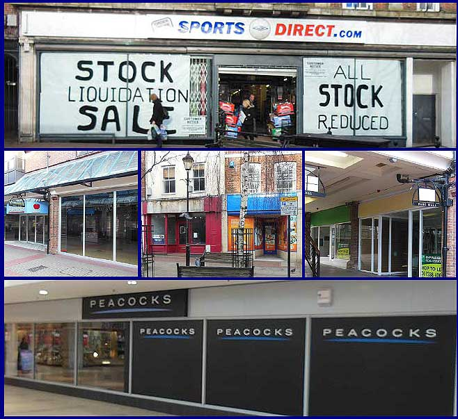 Empty Shops in Ashford Kent