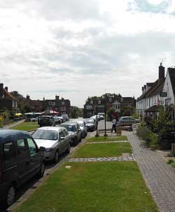 Appledore Village in Kent