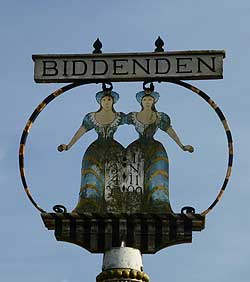 Biddenden, Kent Village Sign