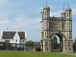 Gateway to Eastwell Park, Kent