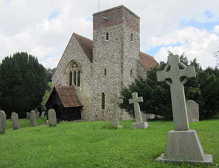 hastingleigh church