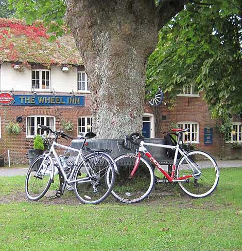 The Wheel Inn Westwell Kent