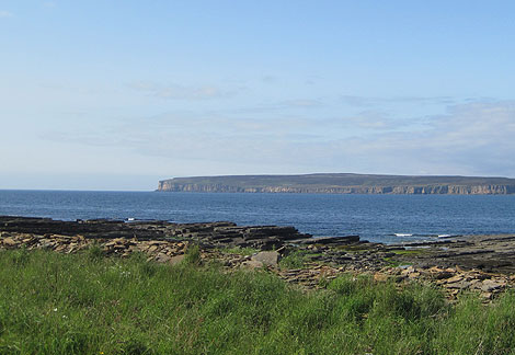 Dunnet Head from Castletown