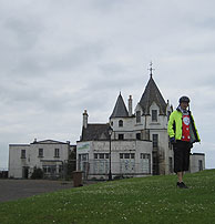 The derelict Hotel at John O'Groats