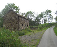 Old derelict House along a Shropshire Lane