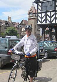 Cycling through Ledbury