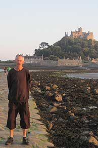 On the footway to St. Michaels Mount