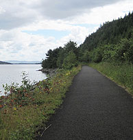 Cycle Path Loch Lomond