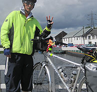 JOGLE - 300 miles completed
