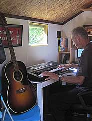 Frugal Living Converting a Garden Shed into an Office Down the