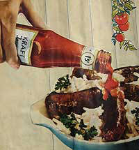 Advert for Kraft Tomato Ketchup 1950's