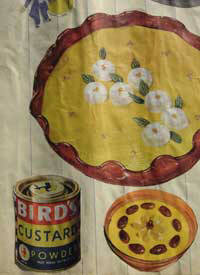 advert for Bird's Custard 1950's
