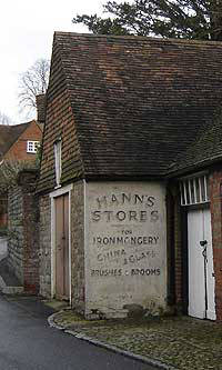 Hann's Stores, Chipstead Kent