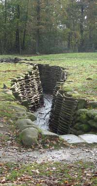 German Trenches at Kemmel