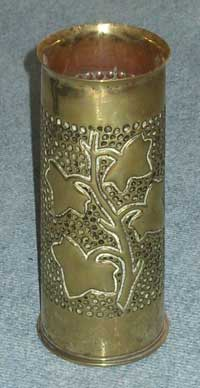 Trench Art Shell from France WW1
