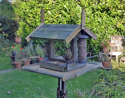 Home made Bird Table