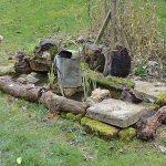 The old Aluminium Bath now pond