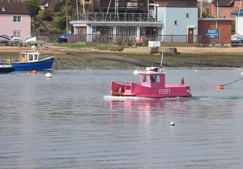 Pink Ferry Hamble