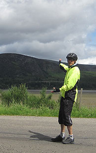 JOGLE cycle ride - Loch Fleet